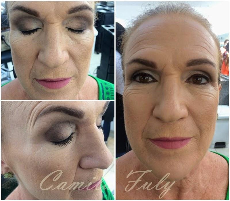 Marronsinho básico em Pele madura maquiagem maquiador(a) designer de sobrancelhas