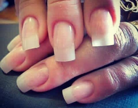Unha de acrigel  unha manicure e pedicure recepcionista