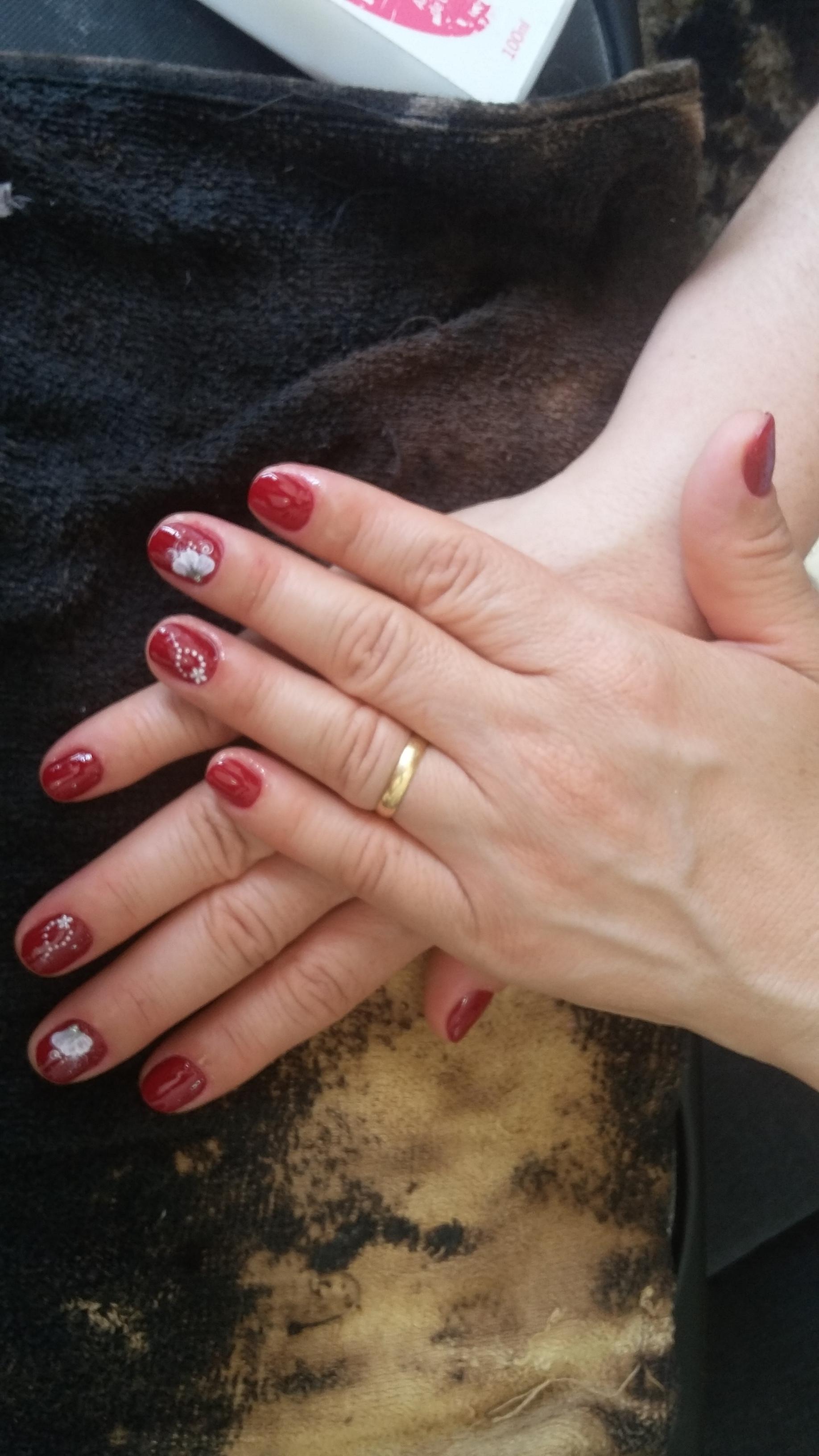 😉😉 unha manicure e pedicure