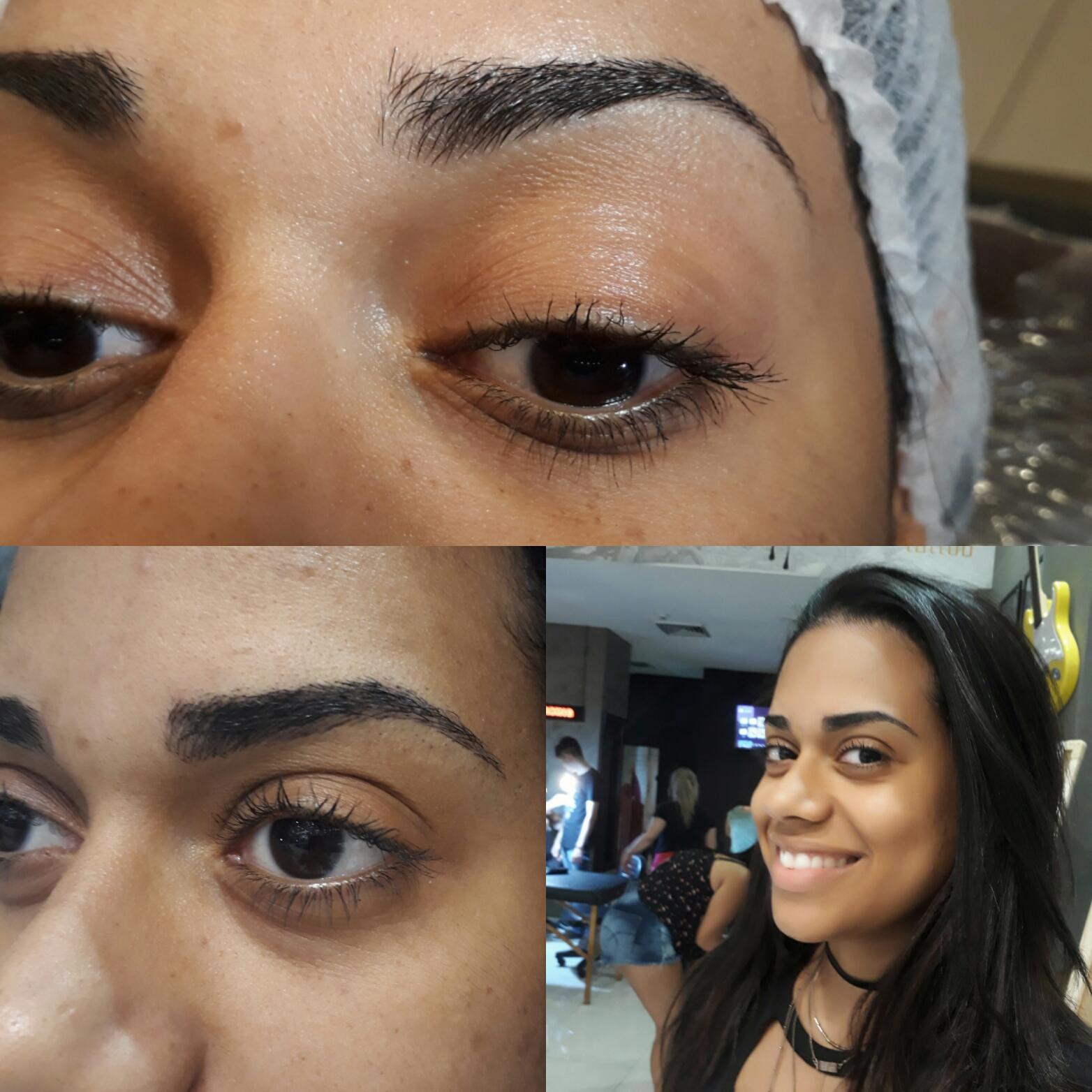 Micropigmentação fio A fio estética designer de sobrancelhas micropigmentador(a) depilador(a)