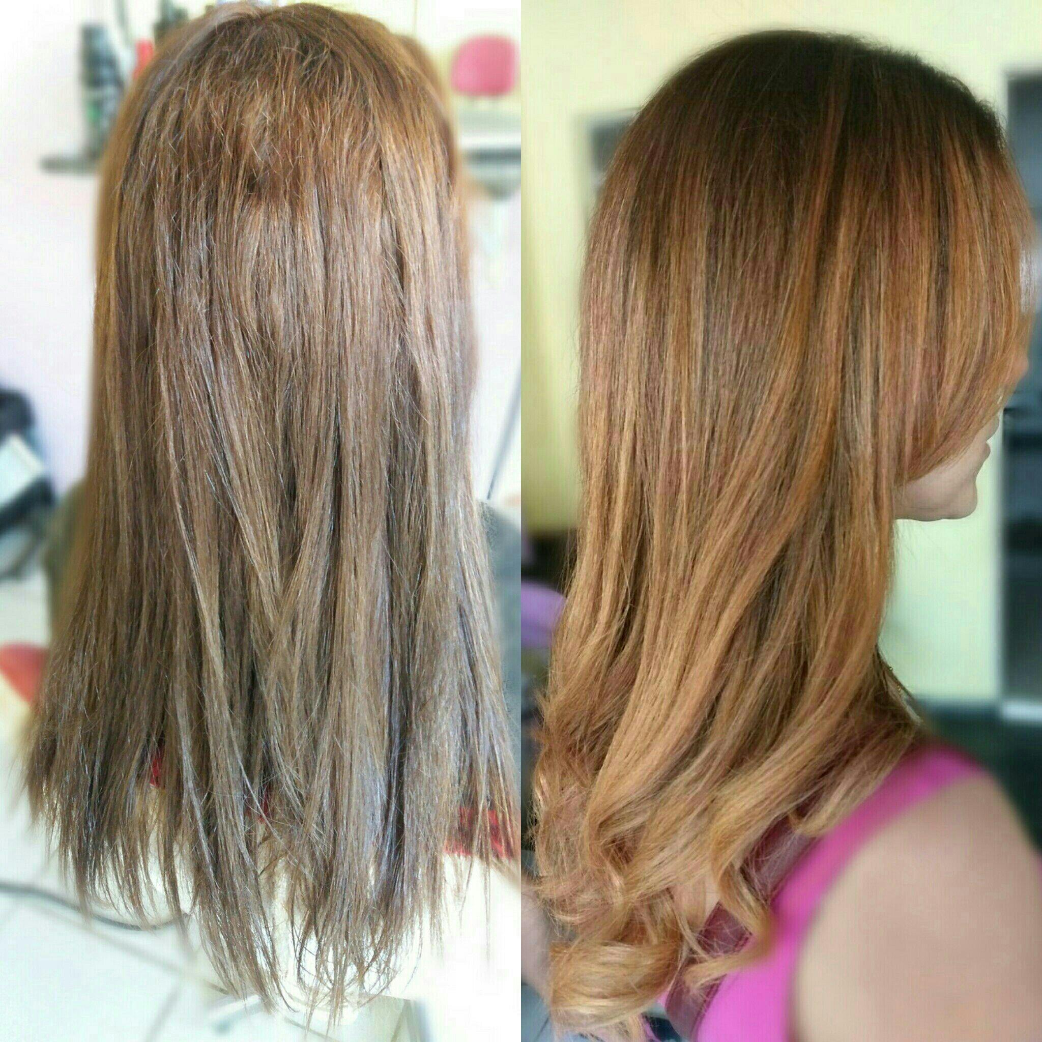 Ruivo acobreado cabelo cabeleireiro(a)
