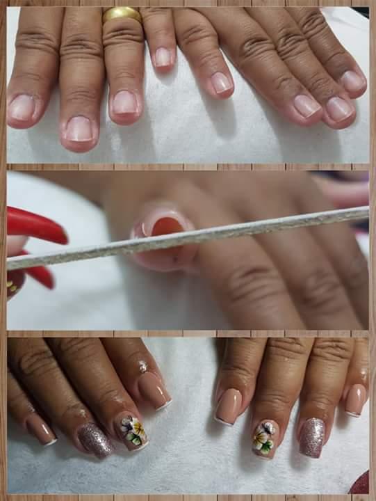 Unhas de porcelana😍💅💅 unha manicure e pedicure