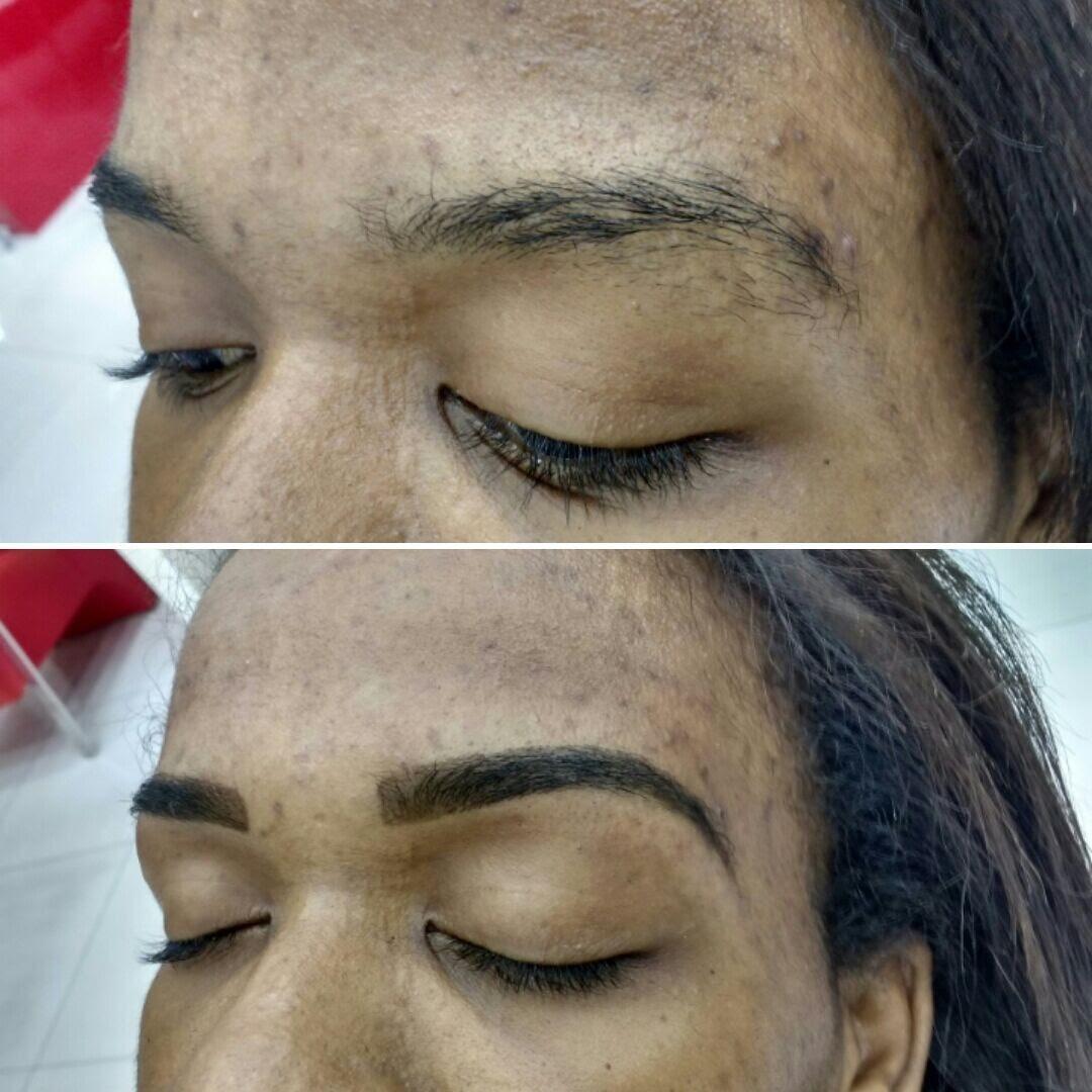 Design com henna estética designer de sobrancelhas micropigmentador(a)