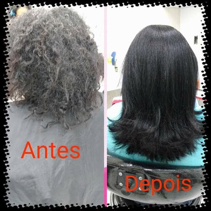 Alisamento progressivo cabelo cabeleireiro(a) designer de sobrancelhas maquiador(a)