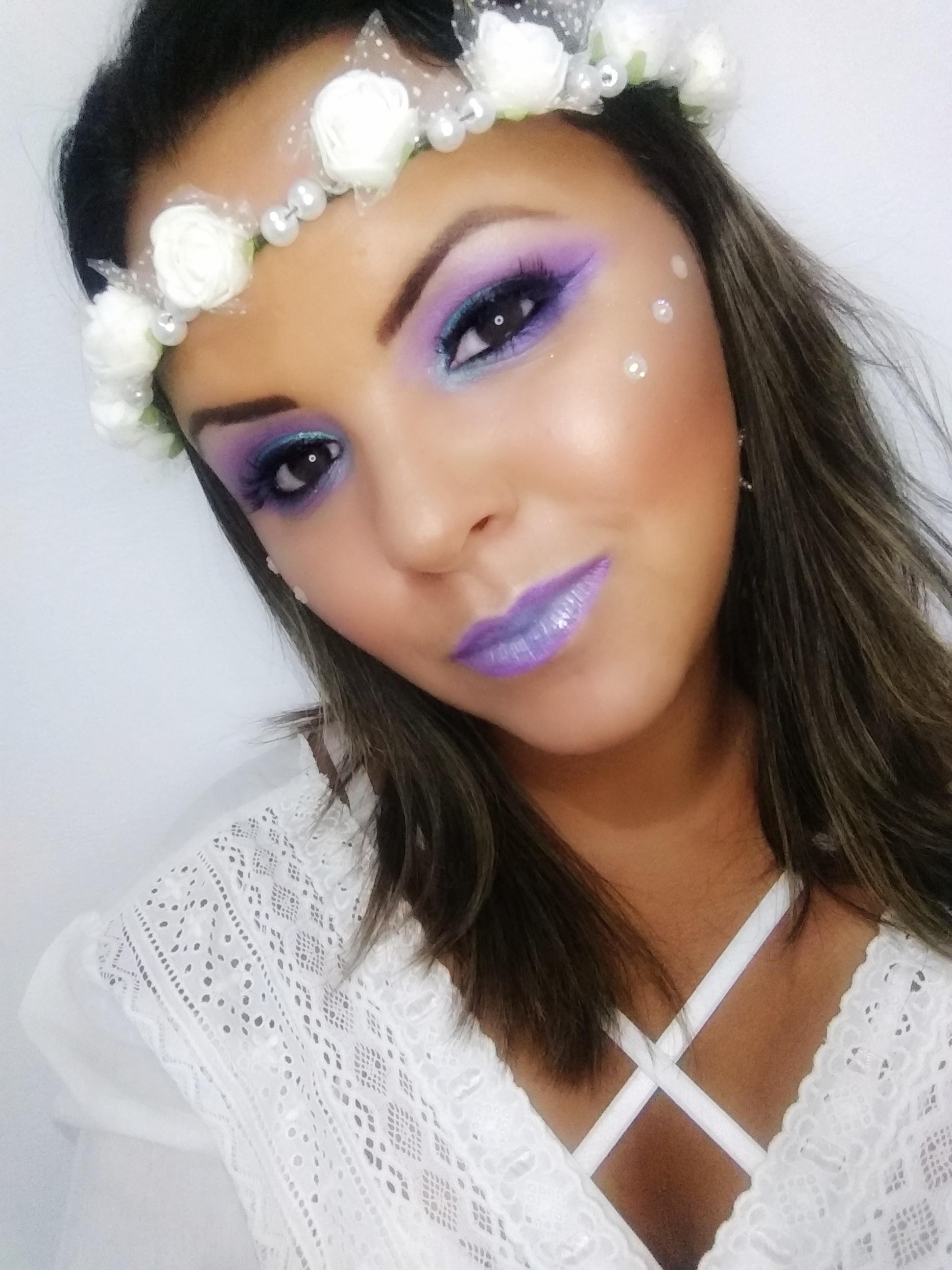 Make Carnaval maquiagem maquiador(a) designer de sobrancelhas
