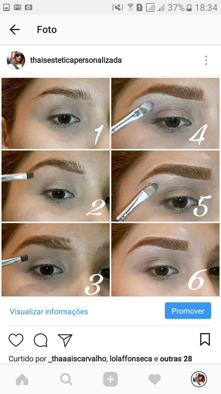#sobrancelhas #preenchimento #maquiagem #make  maquiagem esteticista designer de sobrancelhas
