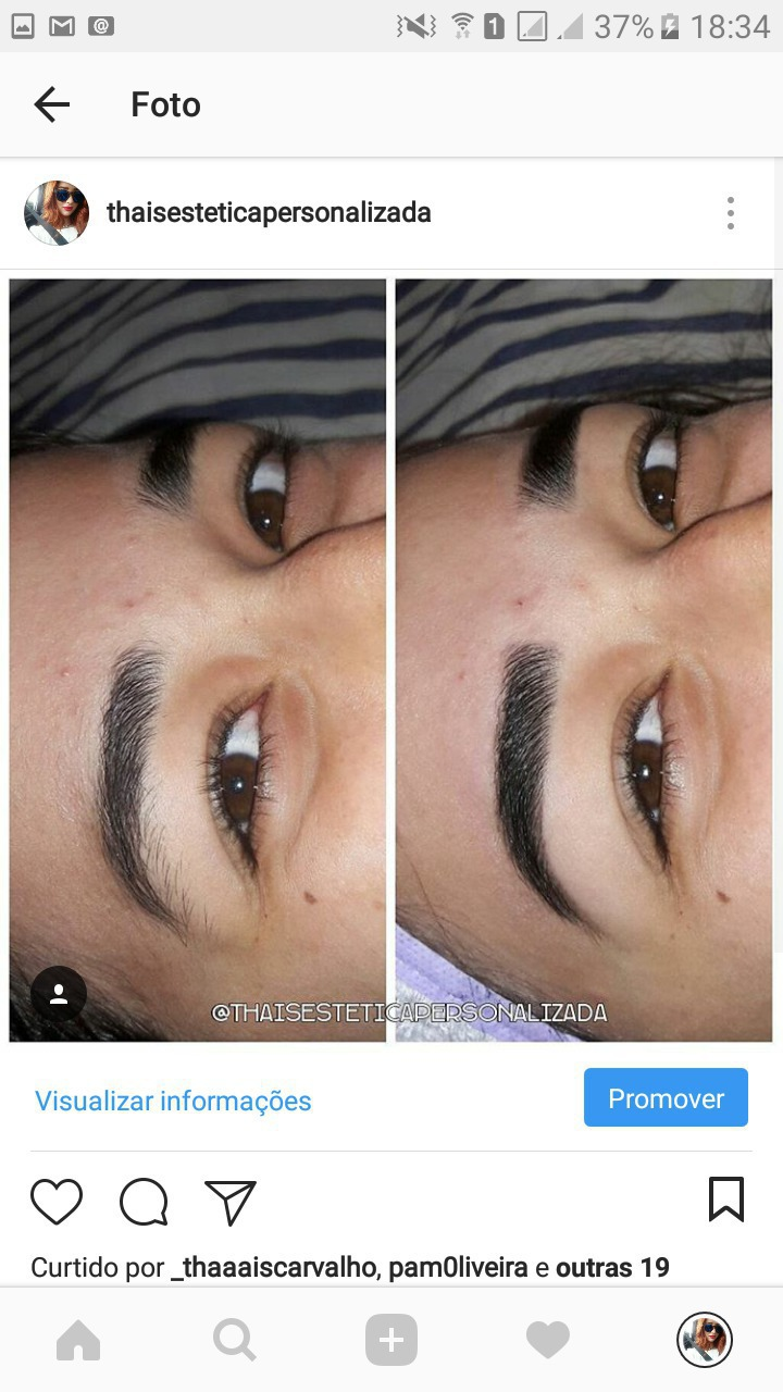 Design de sobrancelhas com Henna!  #esteticando #designdesobrancelhas #sobrancelhaslindas  #Henna  estética esteticista designer de sobrancelhas
