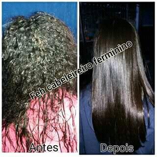 Progressiva obs: o cabelo já foi lavado com shampoo e condicionado secado somente com secador cabelo auxiliar cabeleireiro(a) auxiliar cabeleireiro(a) auxiliar cabeleireiro(a)