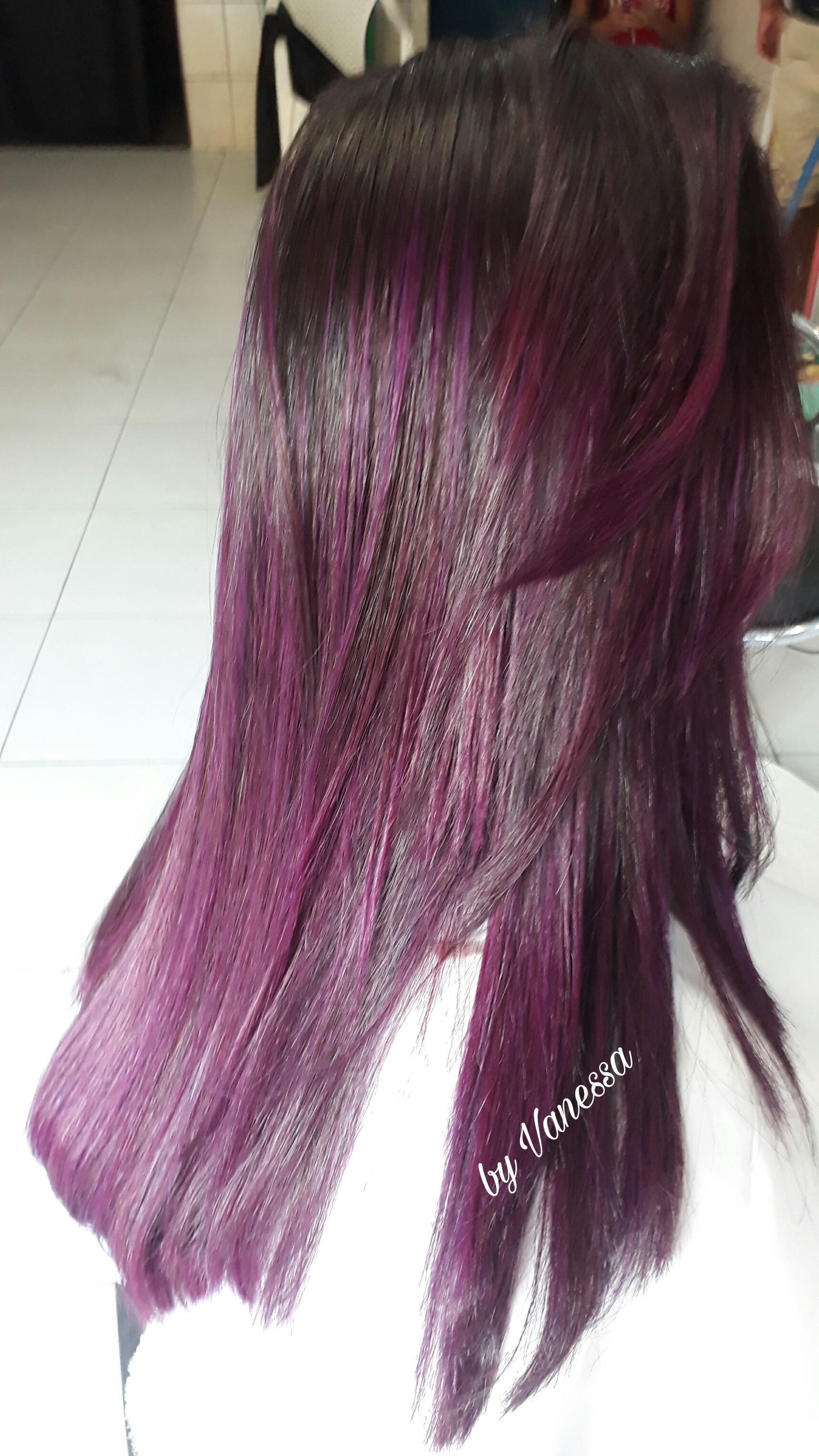 Marsala coloração  cabelo cabeleireiro(a)