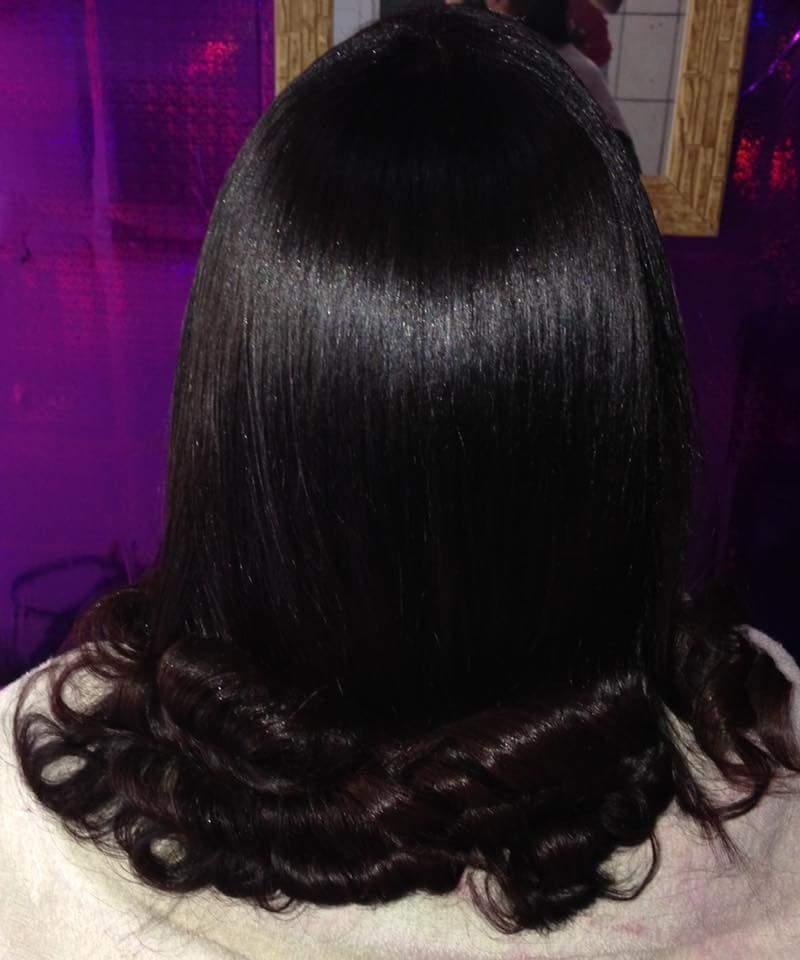 Escova  cabelo cabeleireiro(a)