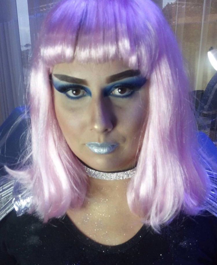 Maquiagem artística futurista!!! TCC curso Senac #maquiagemartística #senac #futurista maquiagem maquiador(a) designer de sobrancelhas