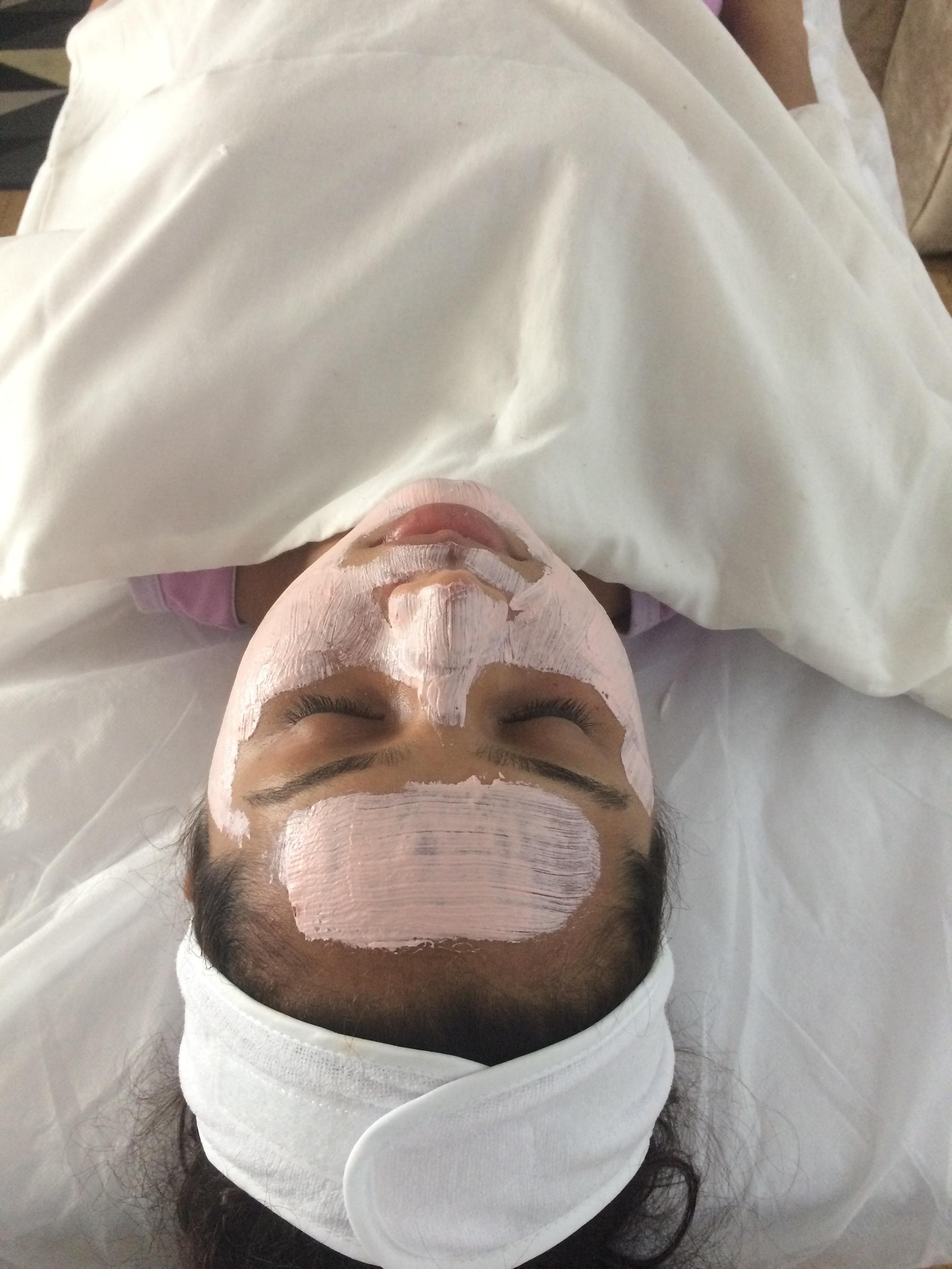 Limpeza de pele #argila estética assistente esteticista esteticista estudante (esteticista)
