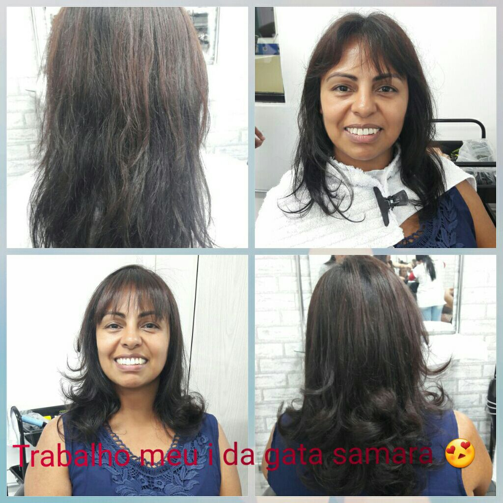Escova modelada cabelo auxiliar cabeleireiro(a) auxiliar cabeleireiro(a)