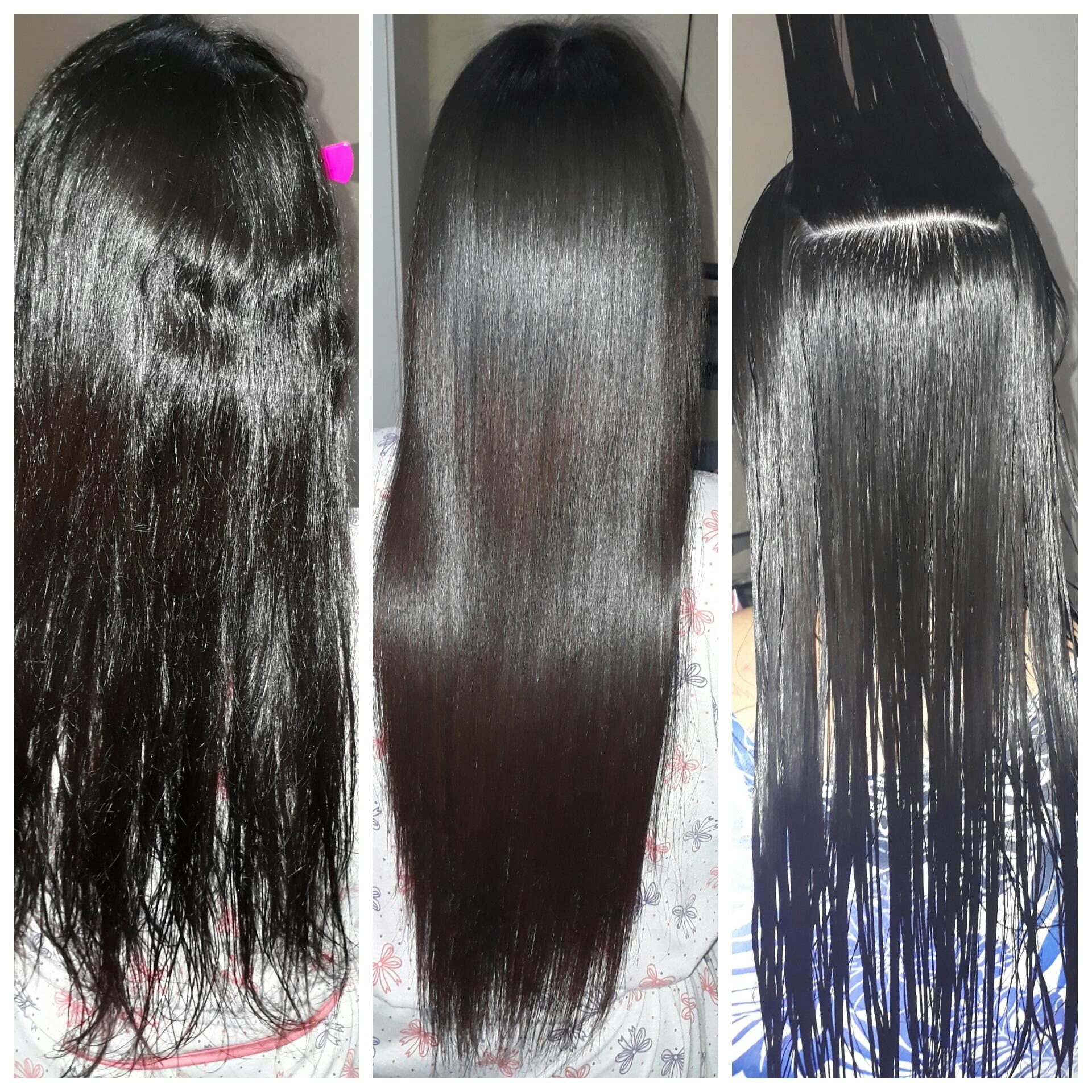 Progressiva 0% formol . cabelo recepcionista