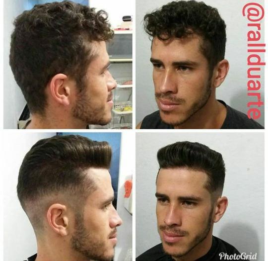 Paixão pelos cortes masculinos!  #rallduarte.  cabelo