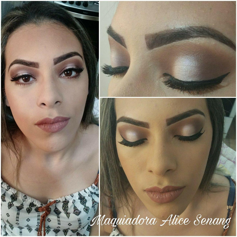 Maquiagem social feita com a técnica pálpebra de luz! #makeup #makeupprofessional  maquiagem maquiador(a) auxiliar cabeleireiro(a) recepcionista