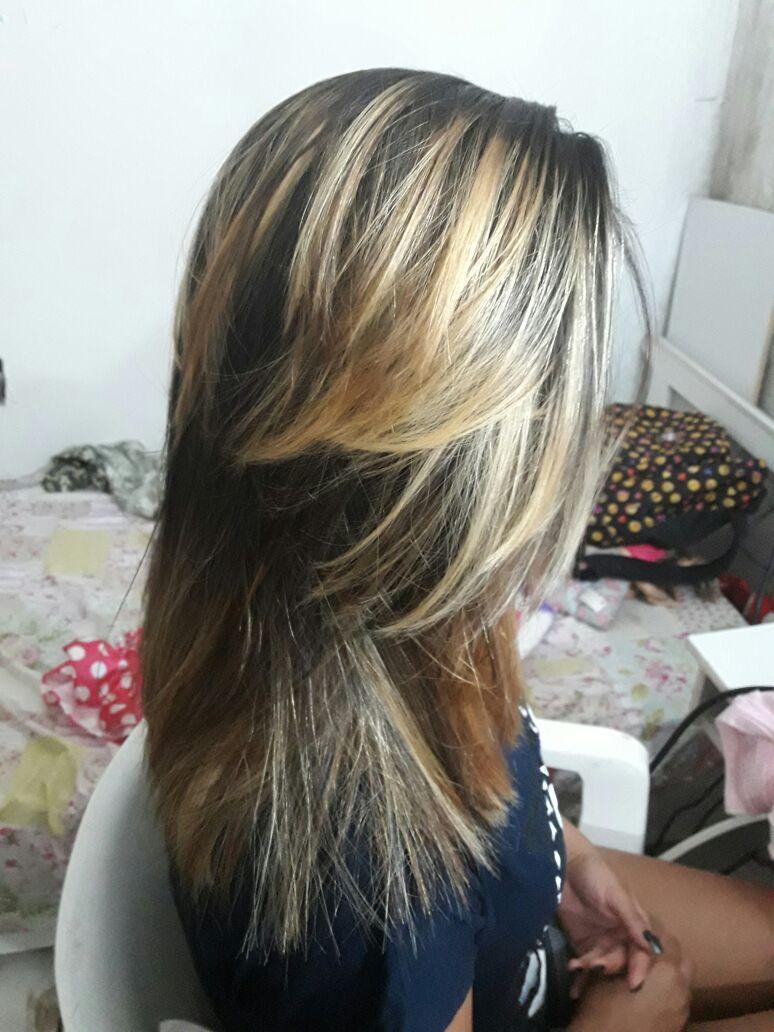 Ombrehair #ombrehair #blond cabelo auxiliar cabeleireiro(a) auxiliar administrativo manicure e pedicure