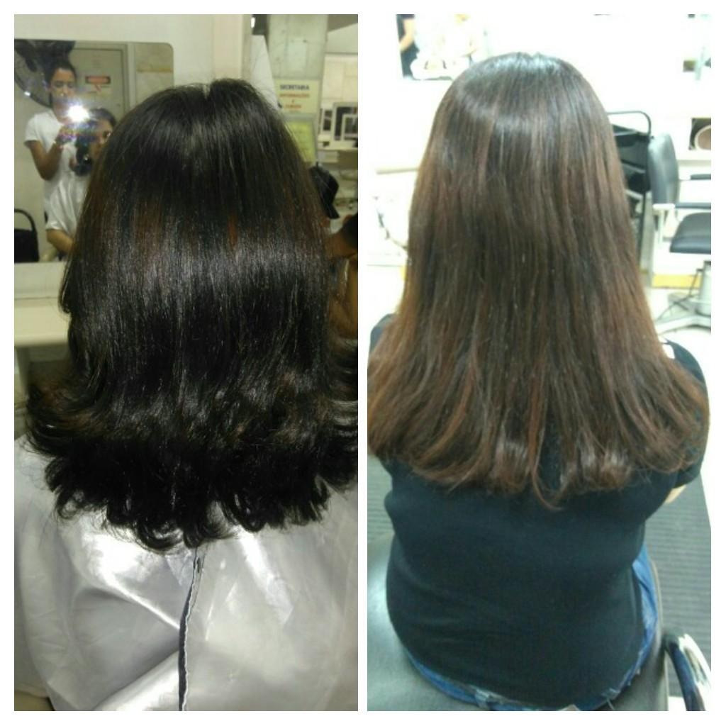 Corte e escova  cabelo auxiliar cabeleireiro(a)