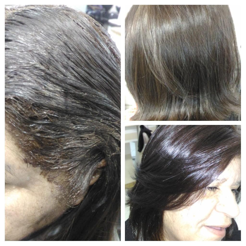 Tintura cabelo auxiliar cabeleireiro(a)