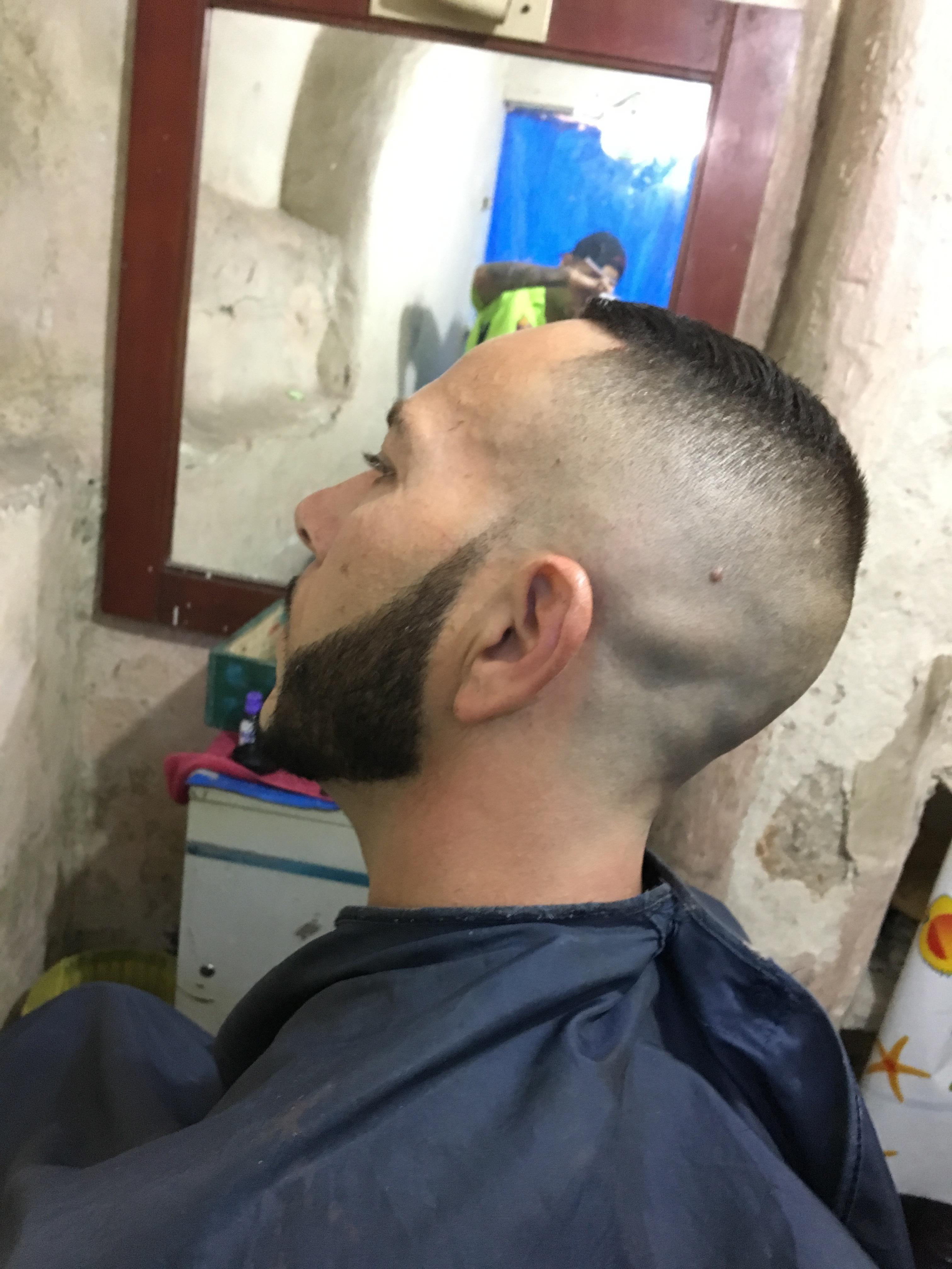 Barba Pigmentada!  cabelo barbeiro(a)
