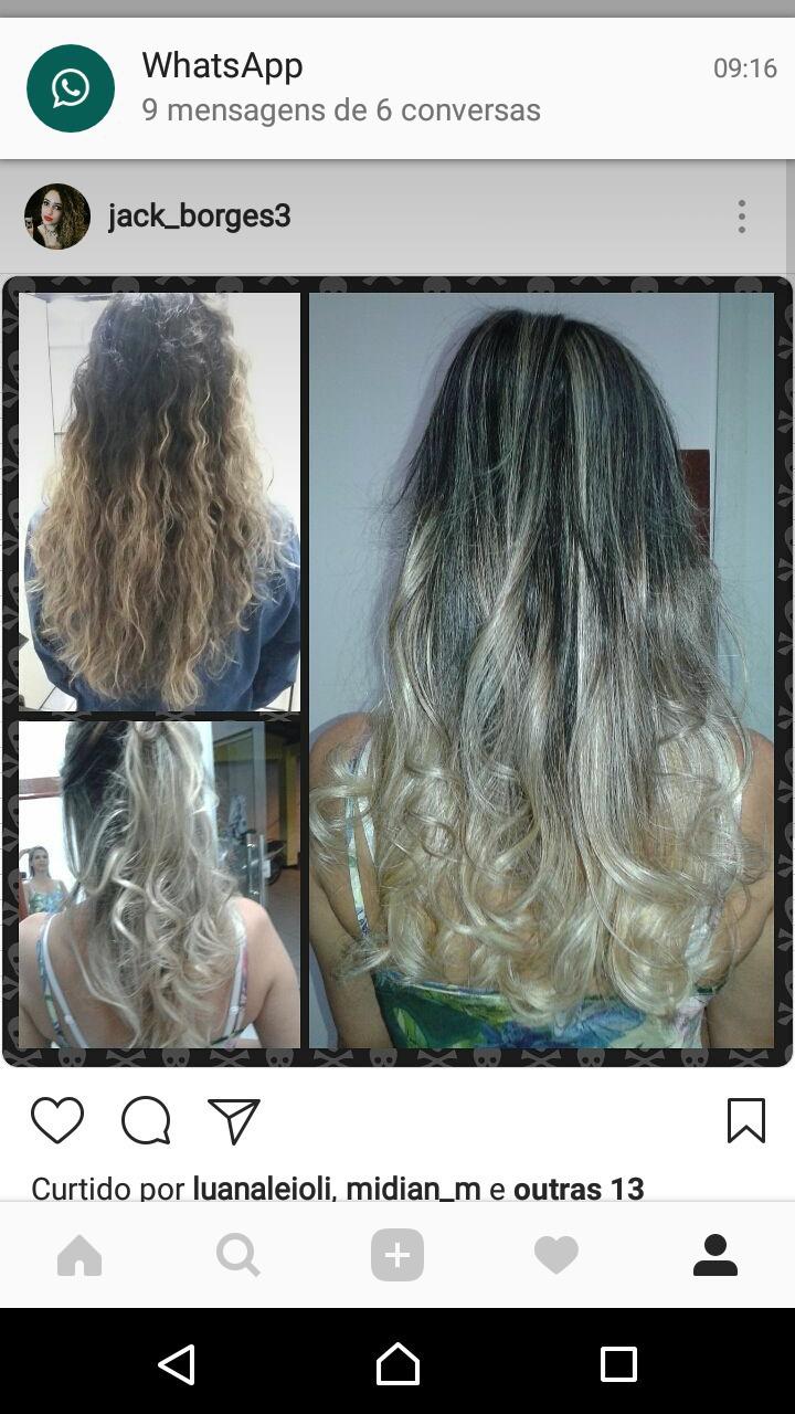 #loiro #hombrehair #mechas  cabelo cabeleireiro(a)