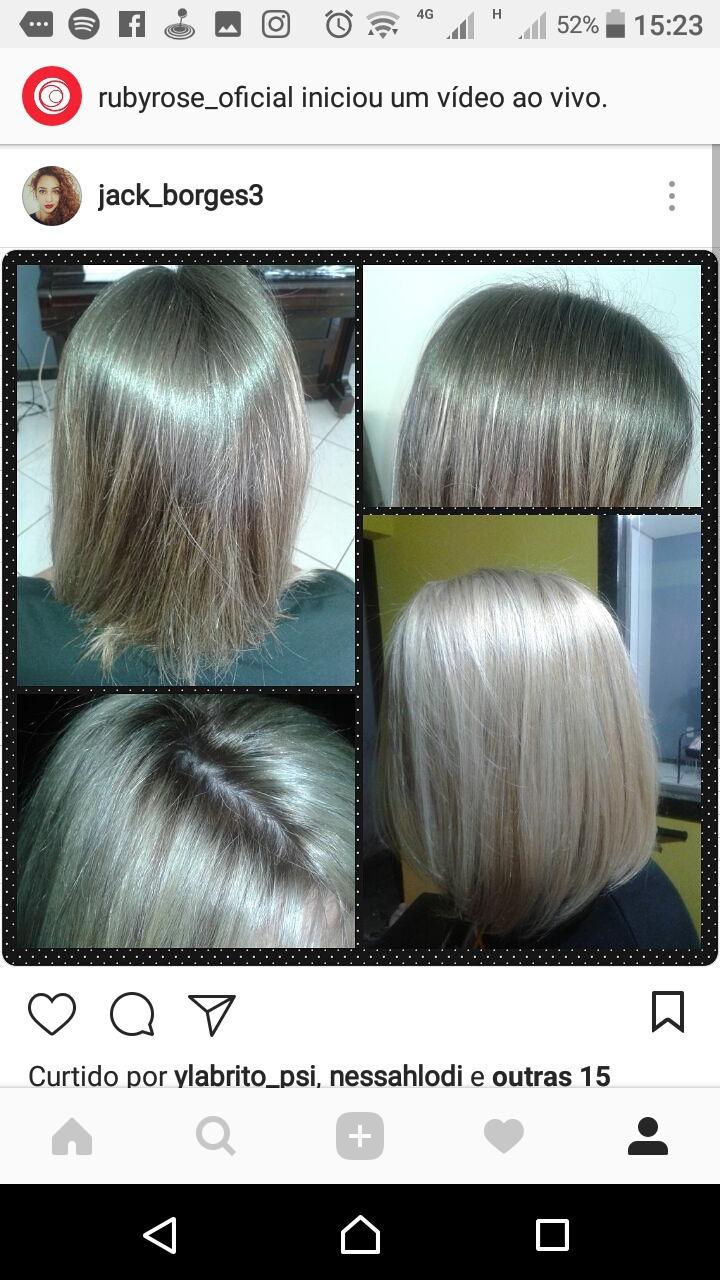 #todoloiro #curtodivo #mechasplatinadas #raizesfumada cabelo cabeleireiro(a)