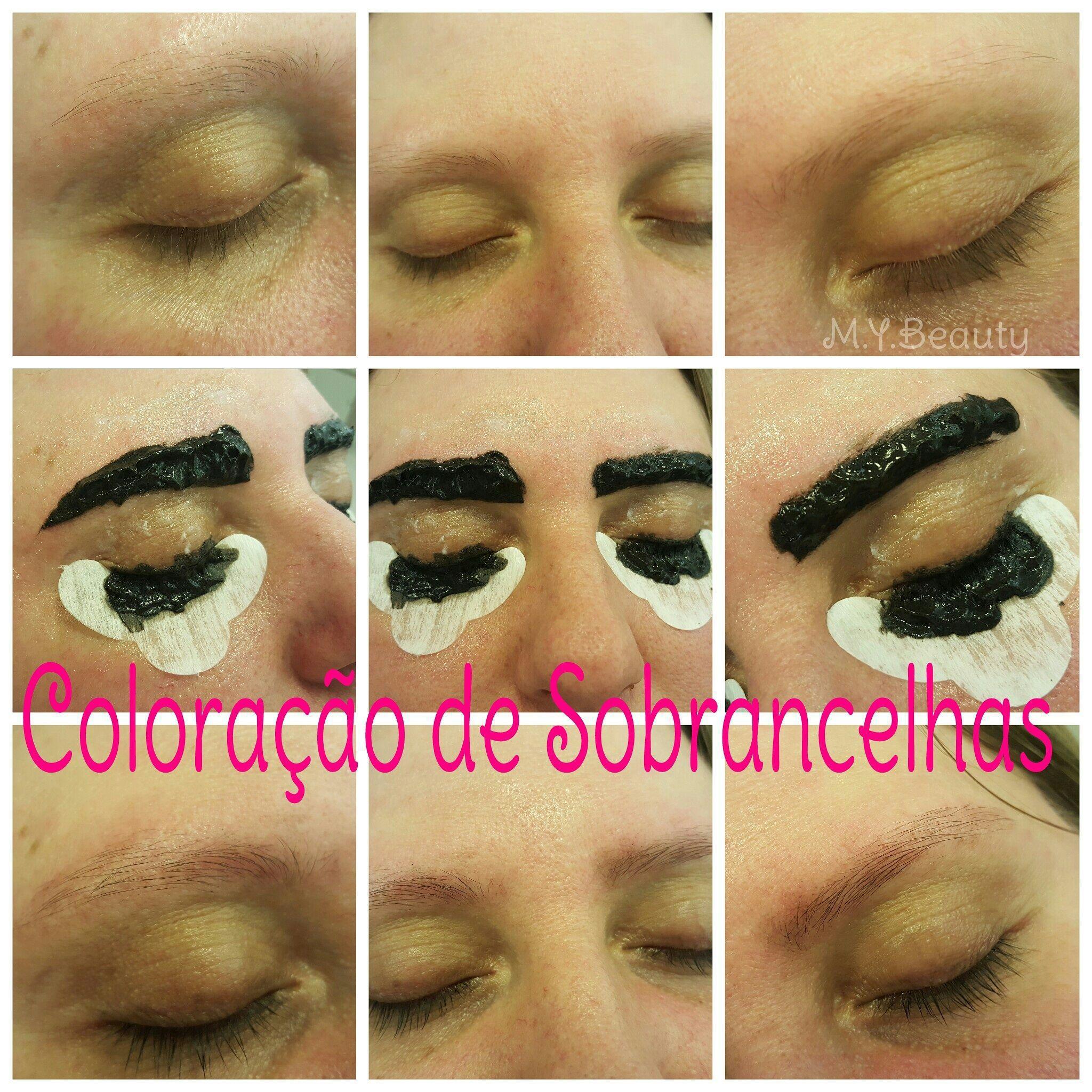 Coloração de cílios e sobrancelhas depilador(a) depilador(a) designer de sobrancelhas