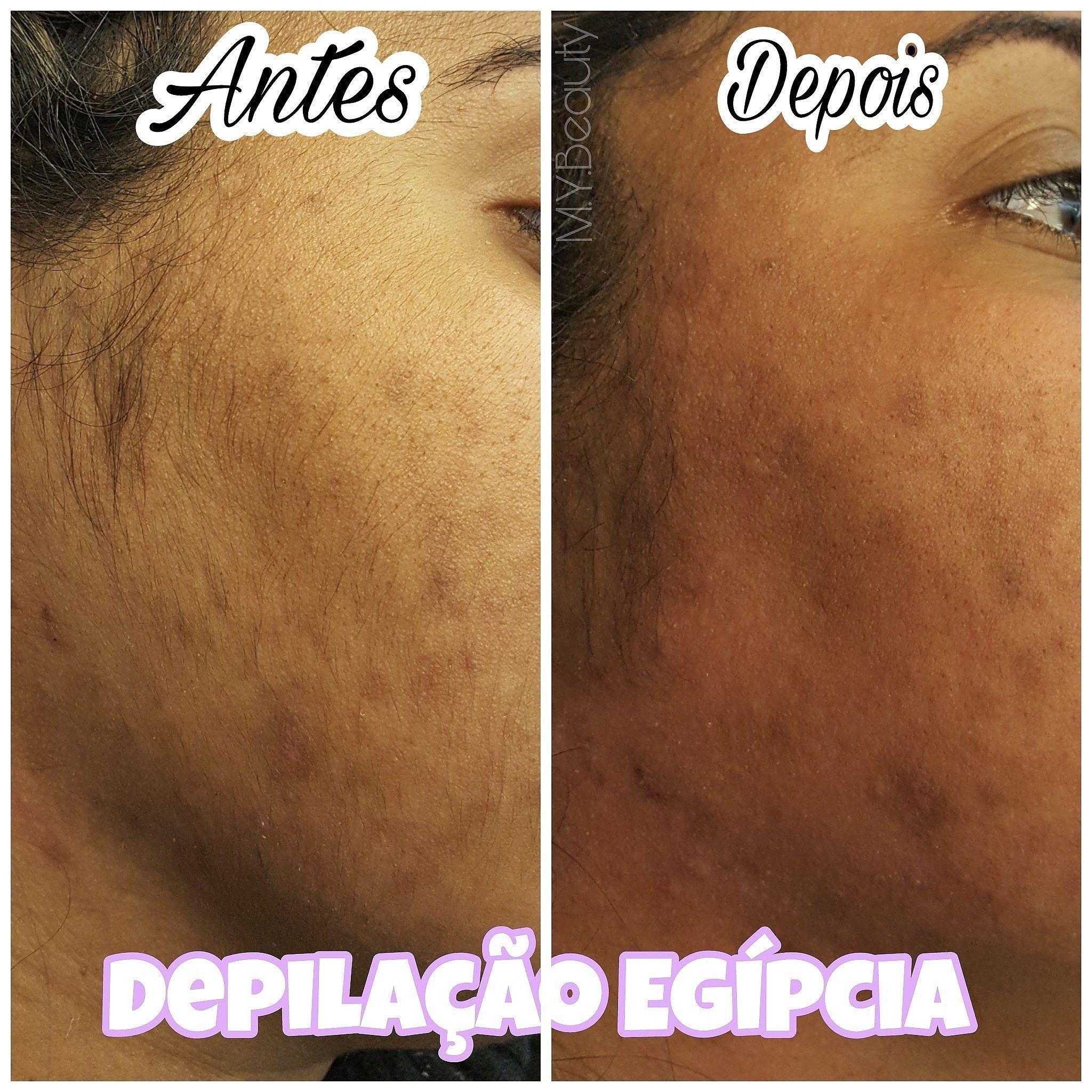 Depilação Egípcia de rosto depilador(a) depilador(a) designer de sobrancelhas