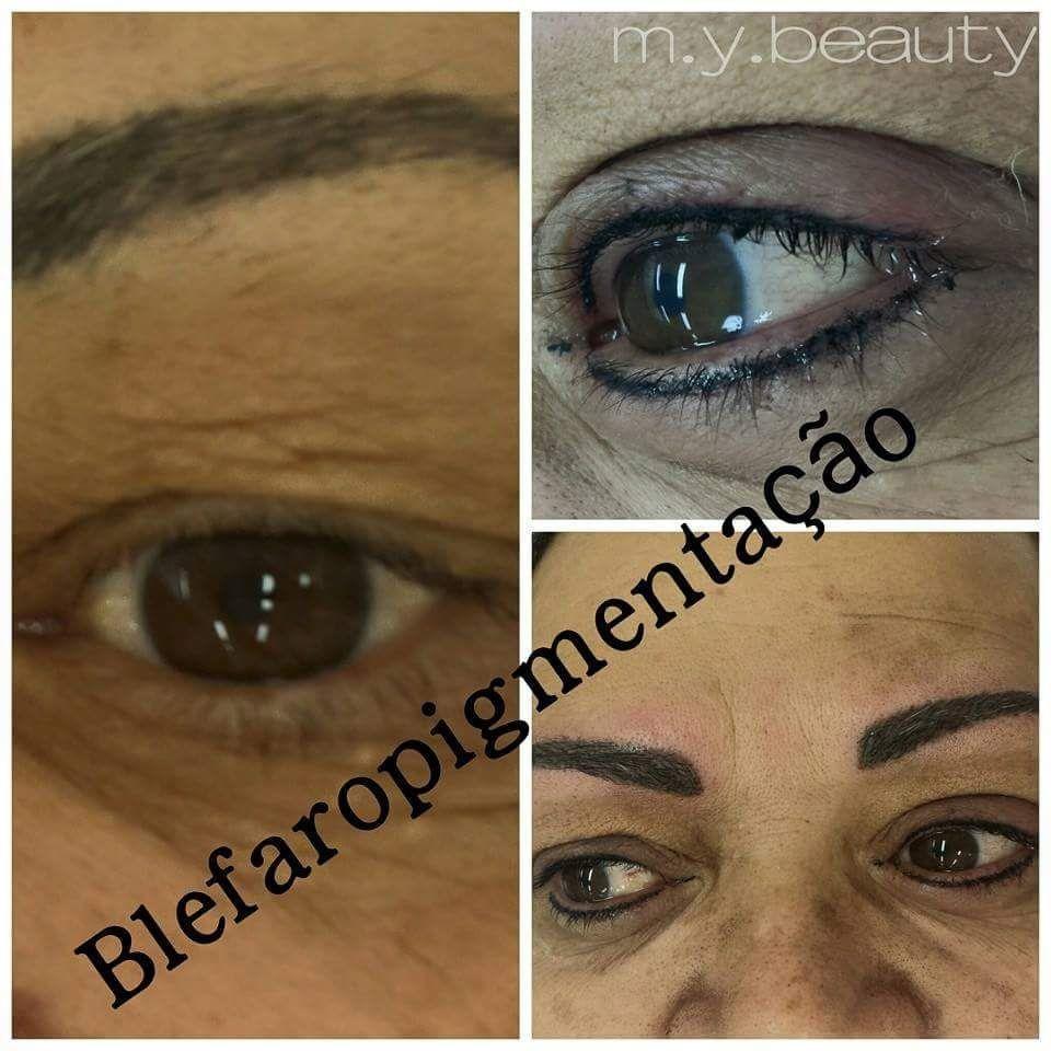 Blefaropigmentação - micropigmentação dos olhos, efeito de lápis depilador(a) depilador(a) designer de sobrancelhas
