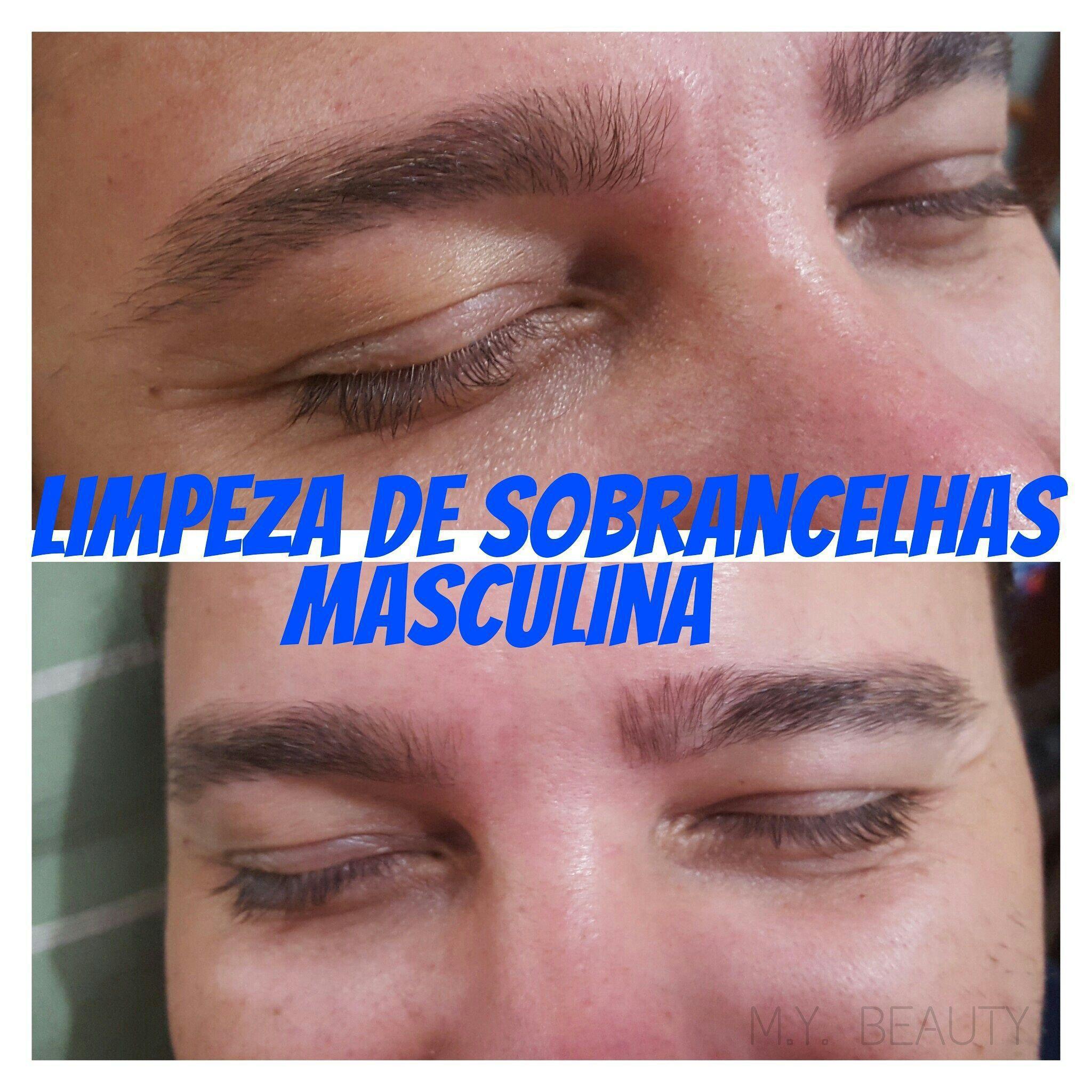 Design Masculino depilador(a) depilador(a) designer de sobrancelhas