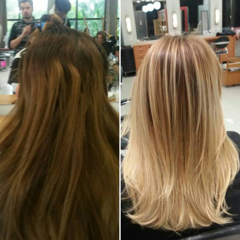 Correção de cor  cabelo cabeleireiro(a) maquiador(a) designer de sobrancelhas