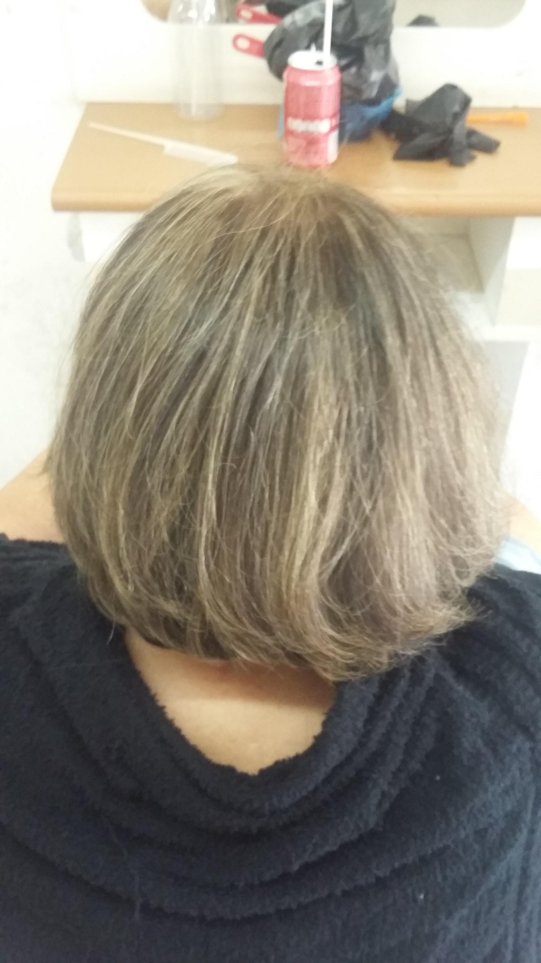Luzes na touca cabelo cabeleireiro(a)