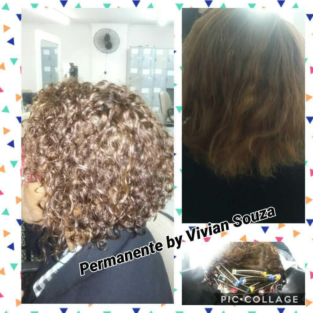 Permanente cabelo cabeleireiro(a)
