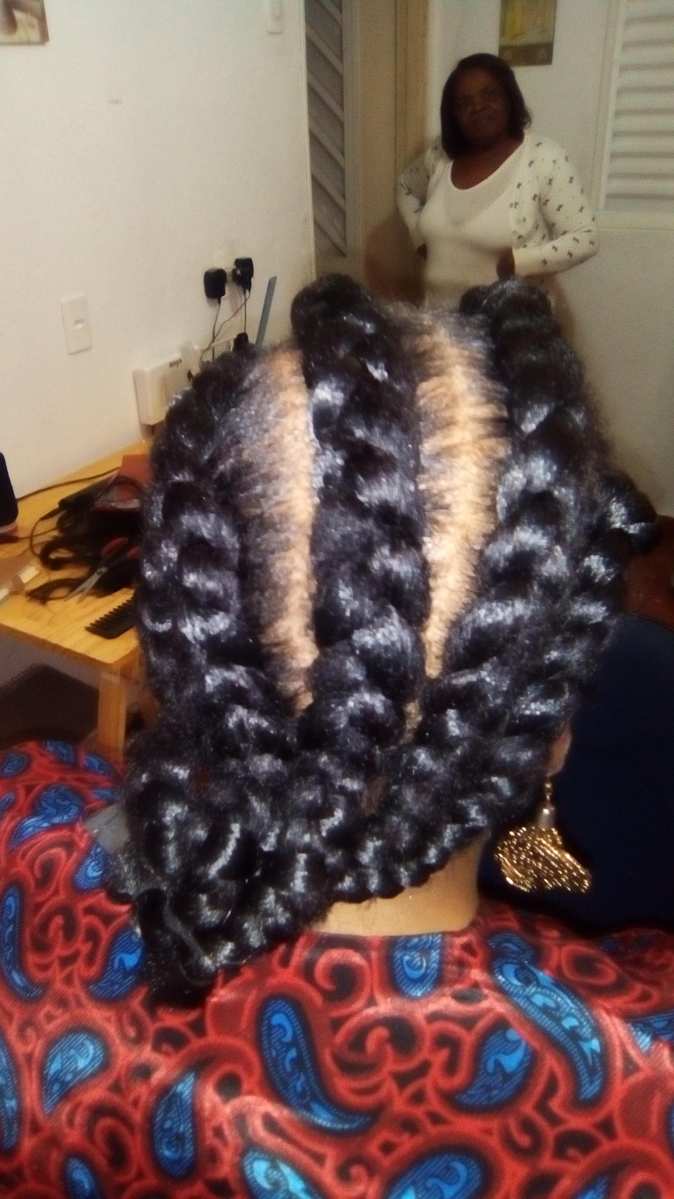 trança raiz cabelo cabeleireiro(a)