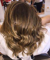 Sombré Hair cabelo cabeleireiro(a) maquiador(a) designer de sobrancelhas