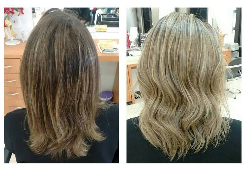 luzes. cabelo cabeleireiro(a) maquiador(a) designer de sobrancelhas