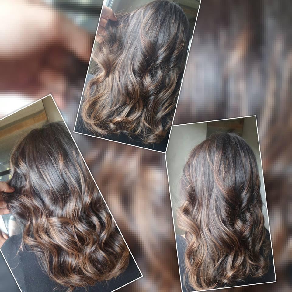 Ombre Hair ,  Morena iluminada  cabelo cabeleireiro(a)