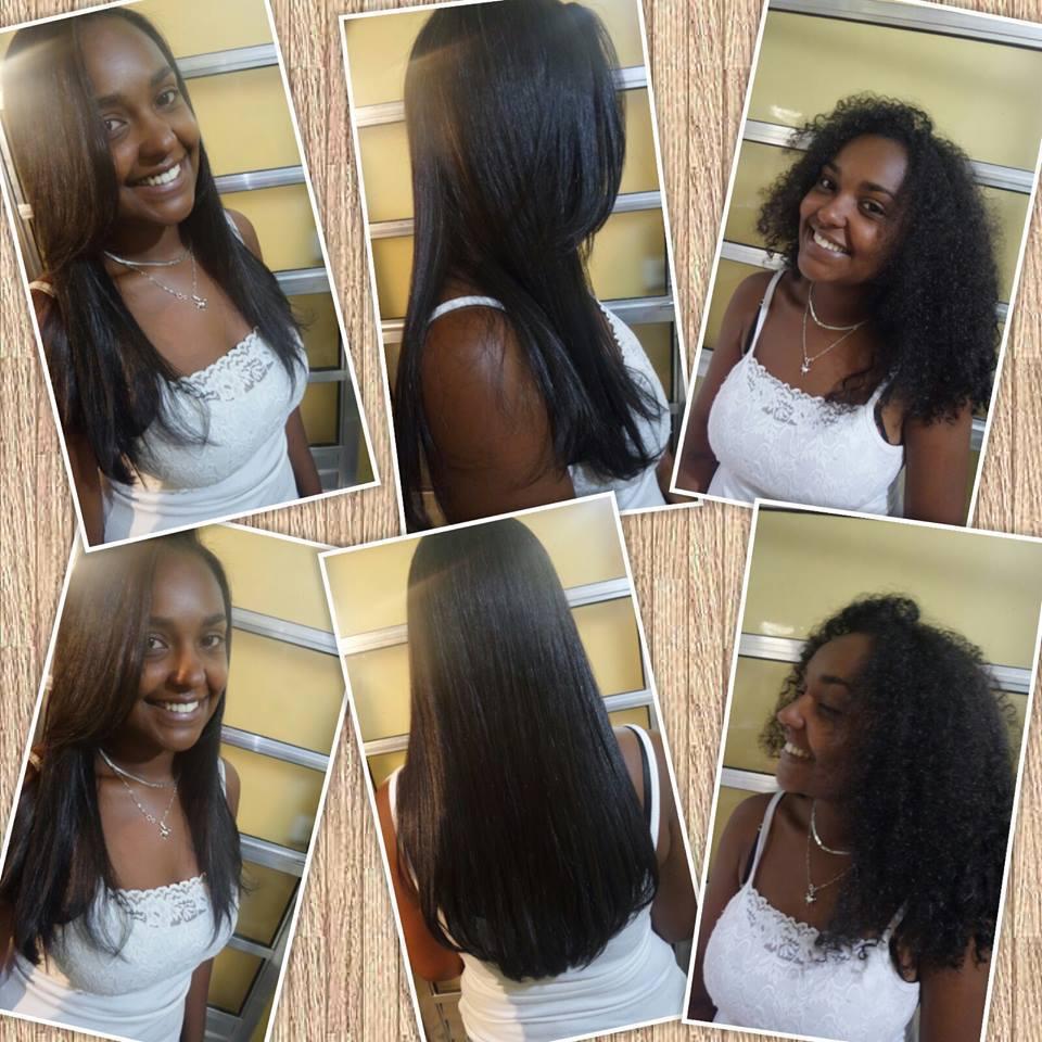Plastica de fios .. cabelo cabeleireiro(a)