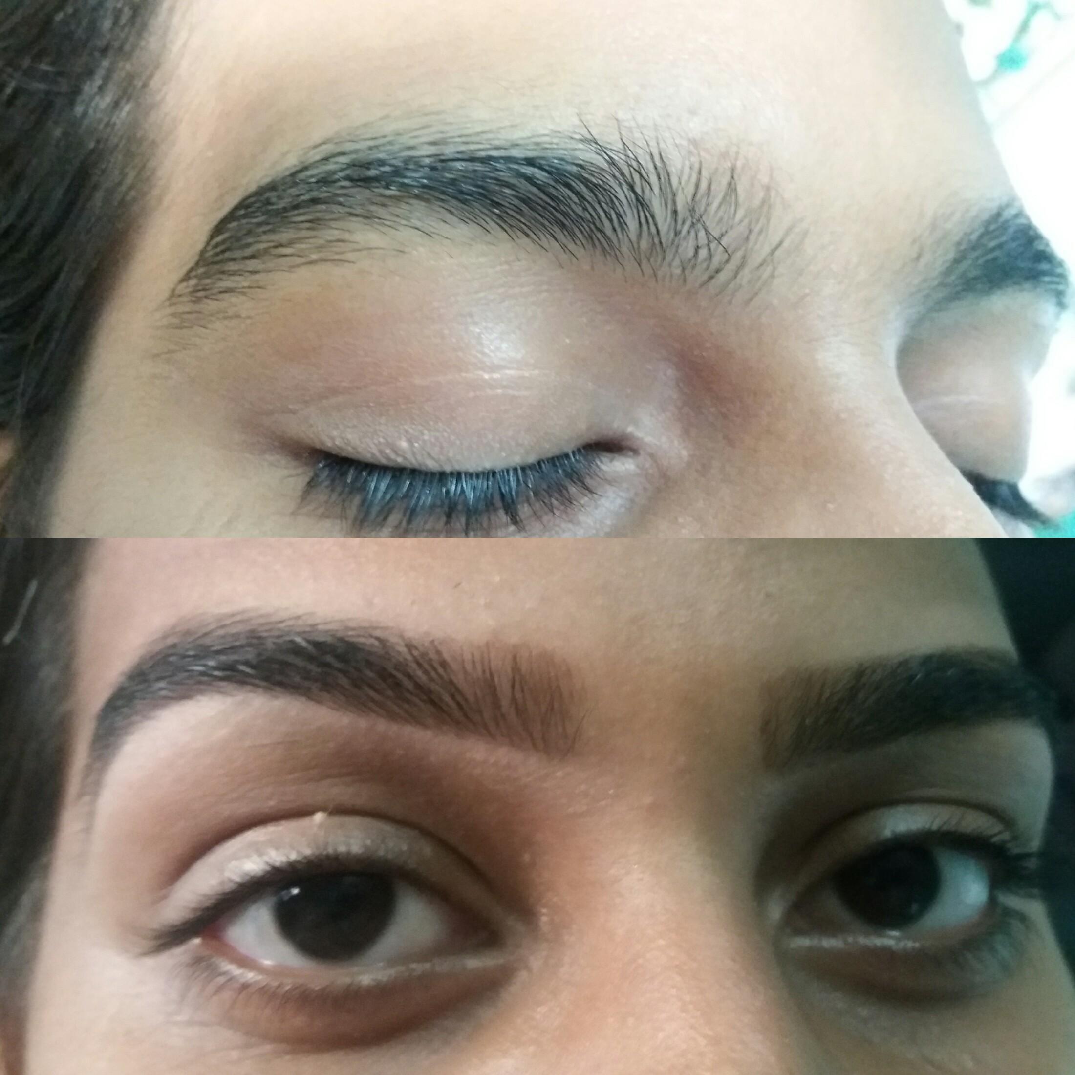 Design com pinça e henna.    #sobrancelhasperfeitas estética designer de sobrancelhas