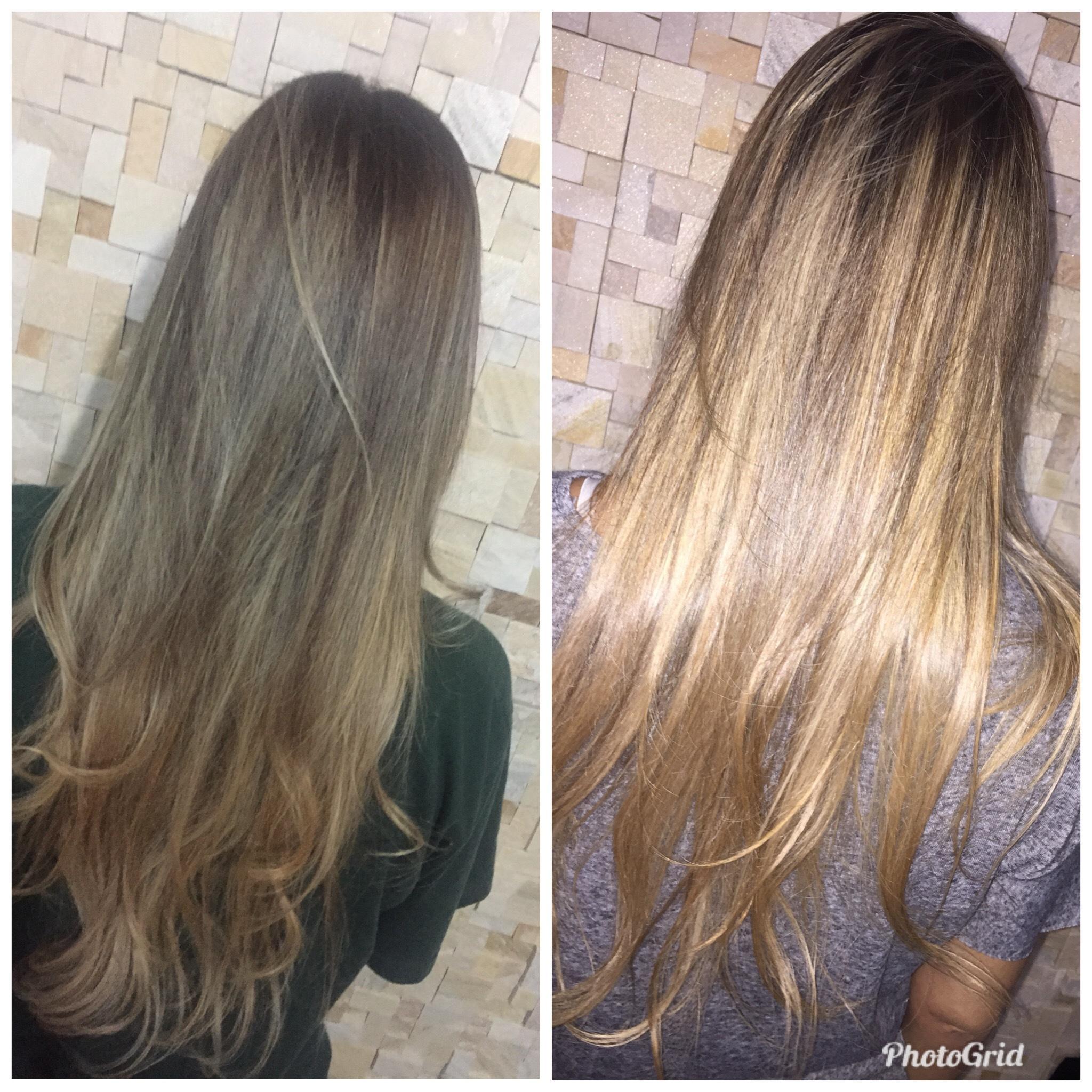 Matização + nutrição de marula !  cabelo cabeleireiro(a)