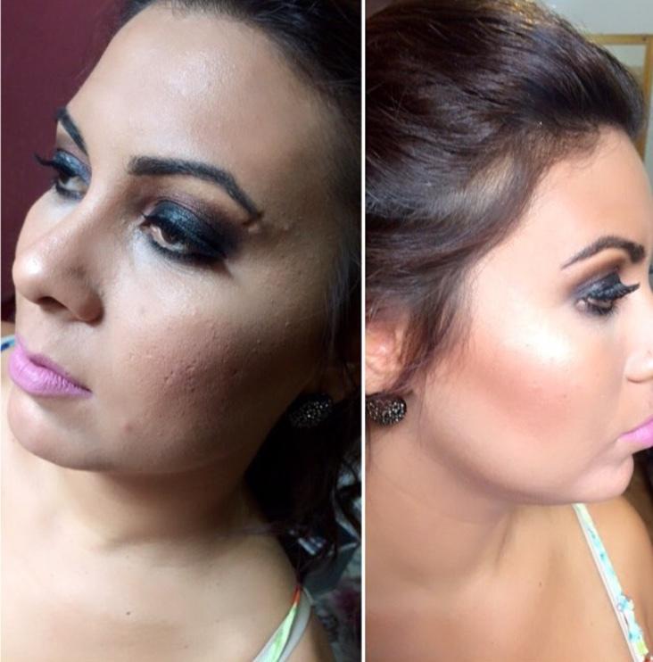 Make festa maquiagem maquiador(a)