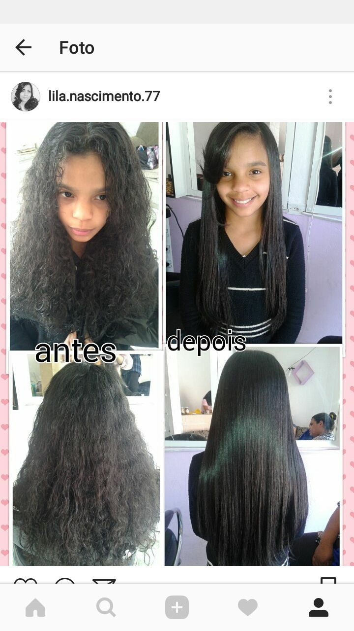 Progressiva💕 cabelo auxiliar cabeleireiro(a)