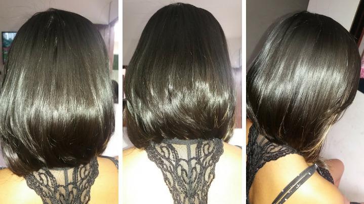 Corte+selagem cabelo auxiliar cabeleireiro(a)