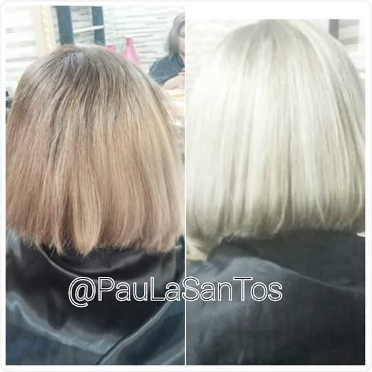 Correção de cor.. cabelo