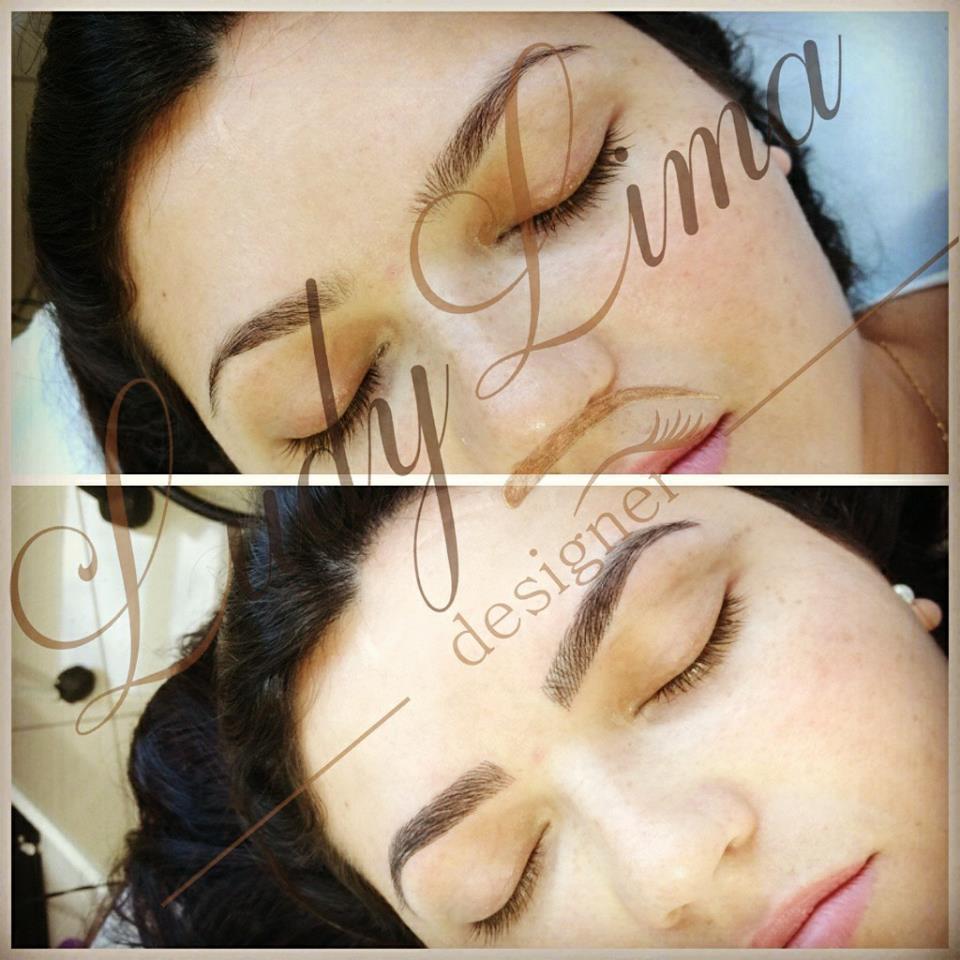 Micropigmentação fio a fio 3D realista outros designer de sobrancelhas micropigmentador(a)