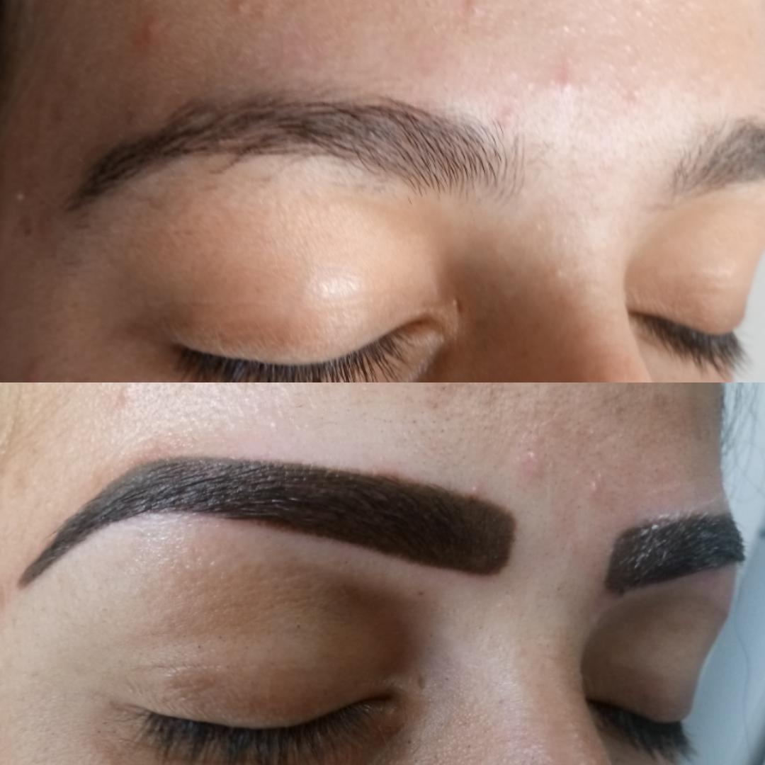 Micropigmentação de sobrancelha Técnica esfumado outros esteticista cabeleireiro(a) designer de sobrancelhas cabeleireiro(a) esteticista cabeleireiro(a)
