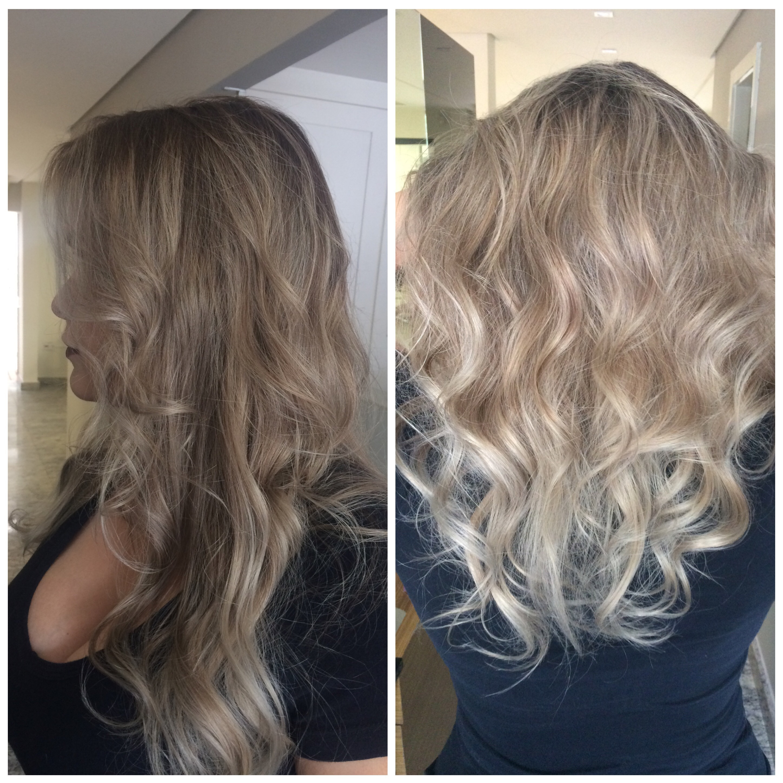 Luzes + tonalização  cabelo cabeleireiro(a) maquiador(a)