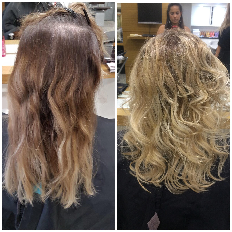 Mechas + tonalização  cabelo cabeleireiro(a) maquiador(a)