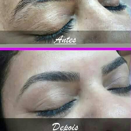 Design sobrancelhas  estética cabeleireiro(a) designer de sobrancelhas micropigmentador(a)