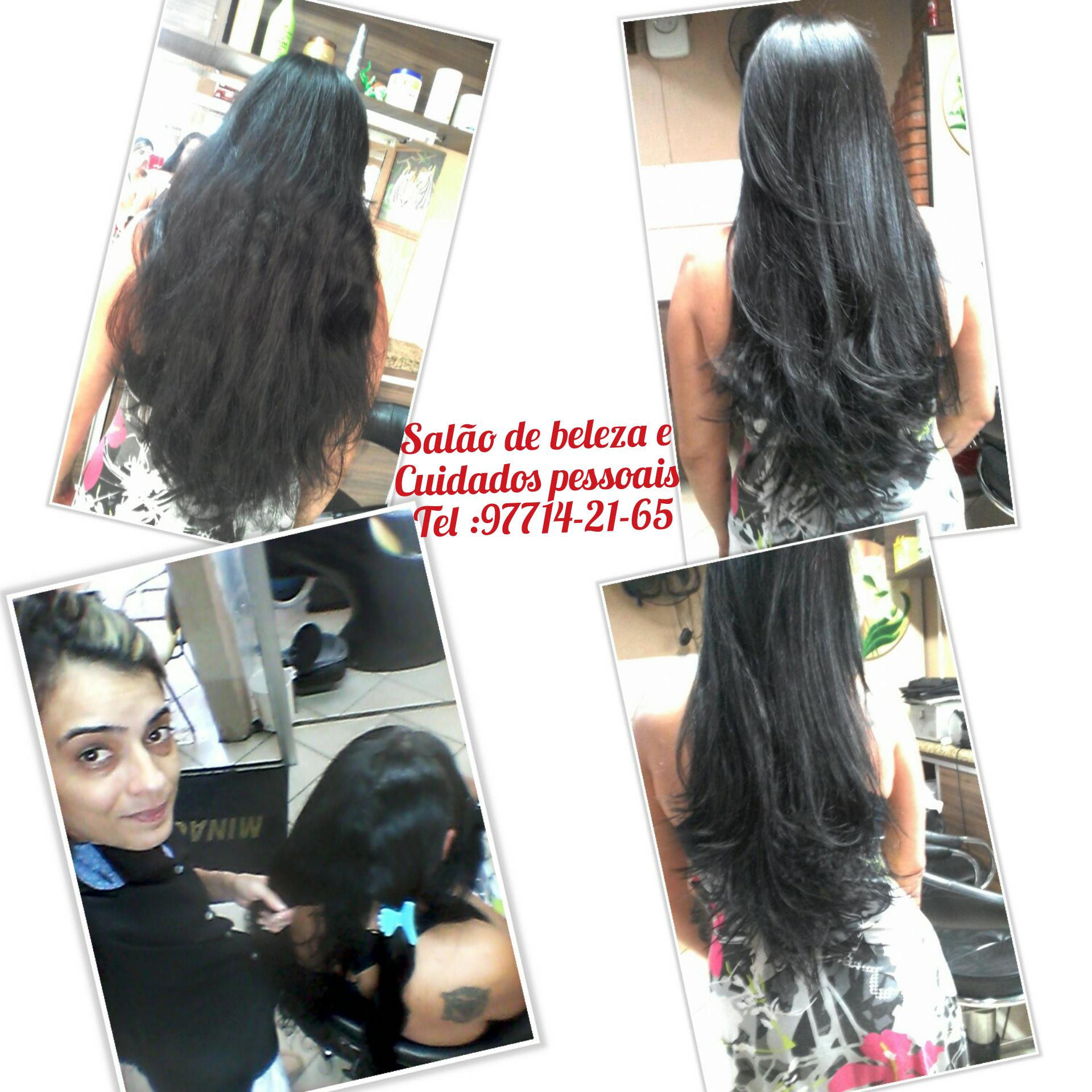 Corte e escova  cabelo cabeleireiro(a) designer de sobrancelhas micropigmentador(a)